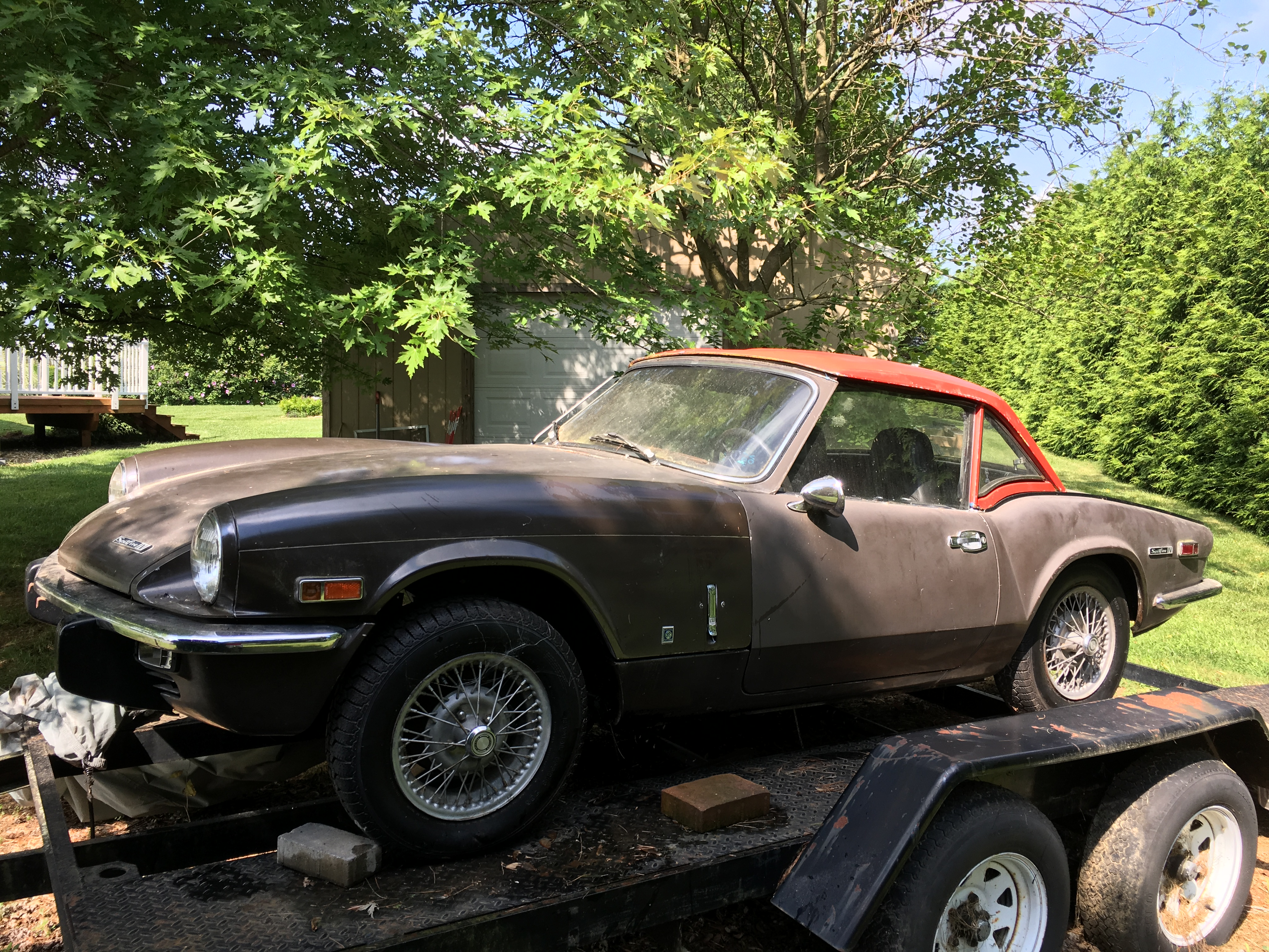 Rat Rod - 1972 MK4 Triumph Spitfire project| Builds and Project ...